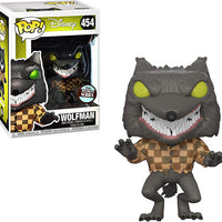 Pop Disney 3.75 Inch Action Figure The Nightmare Before Christmas - Wolfman Exclusive #454