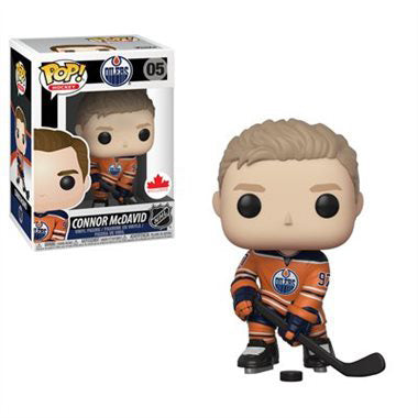 Pop NHL 3.75 Inch Action Figure Oilers - Connor McDavid #05