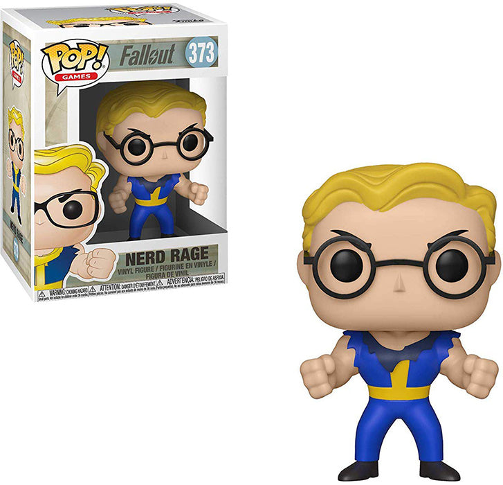 Pop Games 3.75 Inch Action Figure Fallout - Nerd Rage #373