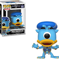 Pop Games 3.75 Inch Action Figure Kingdom Hearts - Donald Monster's Inc #410