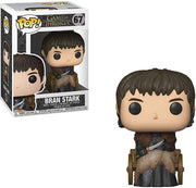 Pop Television 3.75 Inch Action Figure Game Of Thrones - Bran Stark #67