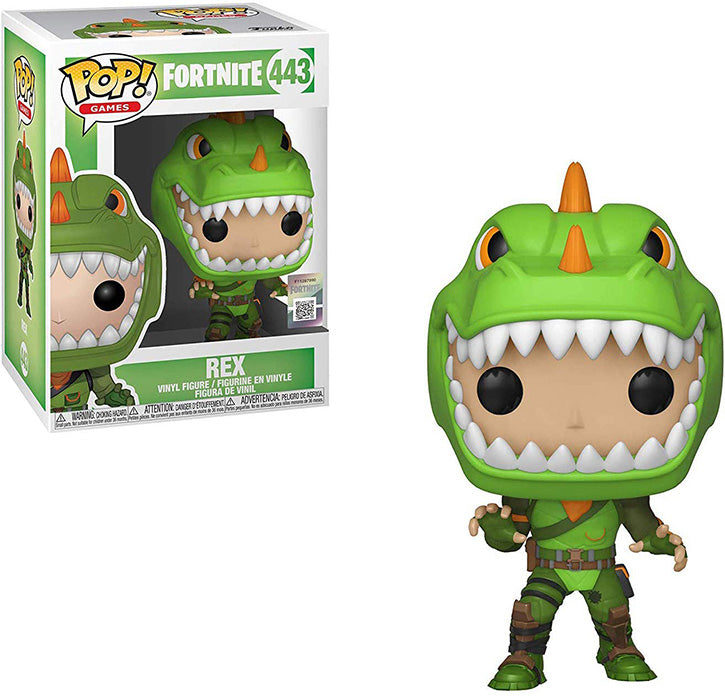 Pop Games 3.75 Inch Action Figure Fortnite - Rex #443