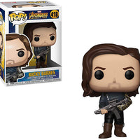 Pop Marvel 3.75 Inch Action Figure Avengers Infinity War - Bucky Barnes #418