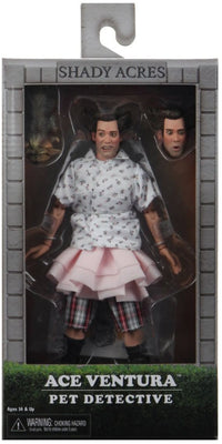 Ace Ventura Pet Detective 8 Inch Action Figure Retro Clothed Series - Ace Ventura