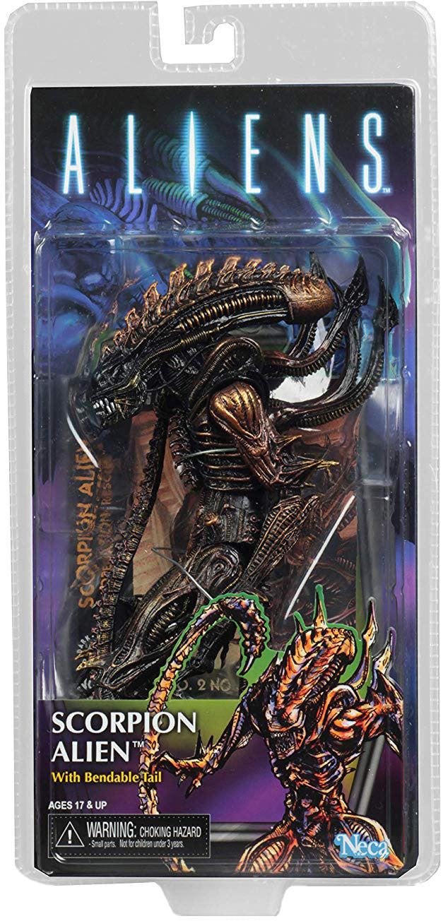 Aliens 8 Inch Action Figure Series 13 - Scorpion Alien
