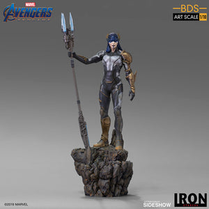 1:10 Art Scale 12 Inch Statue Figure Battle Diorama Series - Proxima Midnight (Black Order) Iron Studios 905657