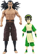Avatar The Last Airbender 7 Inch Action Figure Select Series 3 - Set of 2 (Toph & Lord Ozai)
