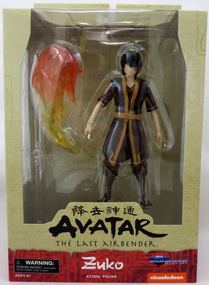 Avatar The Last Airbender 6 Inch Action Figure Series 1 Reissue - Zuko