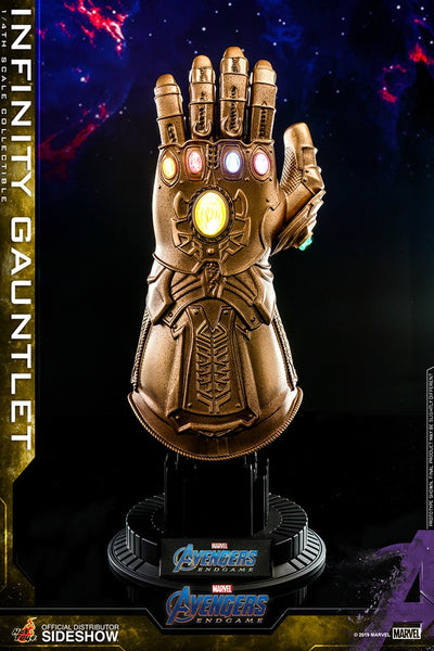 Avengers Endgame 6 Inch Prop Replica 1/4 Scale Series - Infinity Gauntlet Hot Toys 904390