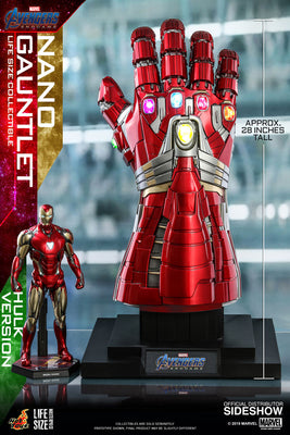 Avengers Endgame 12 Inch Replica - Nano Gauntlet (Hulk Version) Hot Toys 904773