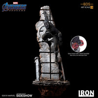 Avengers Endgame 13 Inch Statue Figure 1/10 Battle Diorama - Black Panther Iron Studios 904810