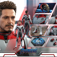 Avengers Endgame 12 Inch Action Figure Movie Masterpiece 1/6 Scale Series - Tony Stark Quantum Suit Hot Toys 904726
