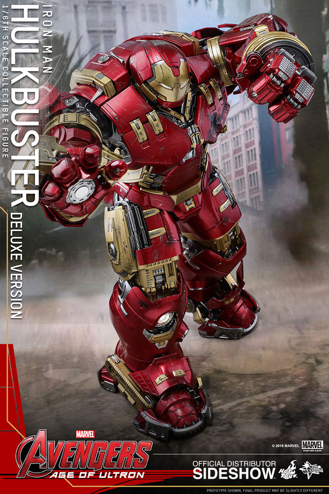 Avengers Age Of Ultron 21 Inch Action Figure Movie Masterpiece 1/6 Scale - Hulkbuster Deluxe Version Hot Toys 903803