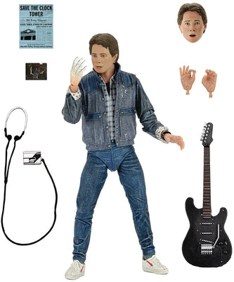 Back to the Future 7 Inch Action Figure Ultimate - Audition Marty McFly