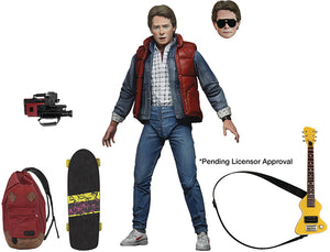 Back To The Future Ultimate Series 7 Inch Action Figure - Marty McFly (Past)