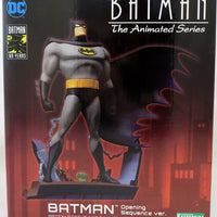 Batman The Animated Series 8 Inch Statue Figure ArtFX+ - Batman Opening Version