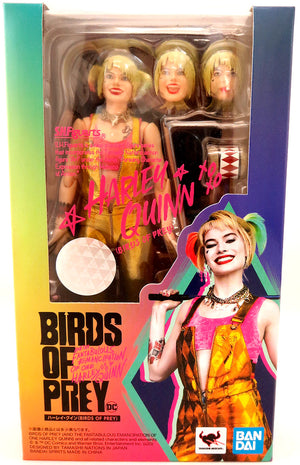 Birds Of Prey 6 Inch Action Figure S.H. Figuarts - Harley Quinn