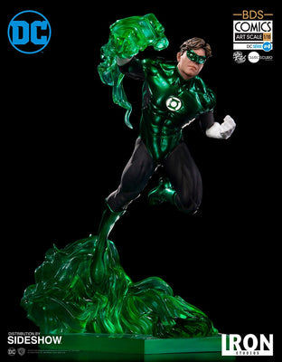 DC 1:10 Art Scale 9 Inch Statue Figure DC Green Lantern Battle Diorama - Green Lantern by Ivan Reis Iron Studios 903762