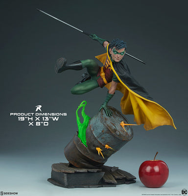 DC Collectible 19 Inch Statue Figure Premium Format - Robin Sideshow 300748
