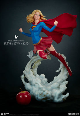 DC Collectible 19 Inch Statue Figure Premium Format - Supergirl Sideshow 300670