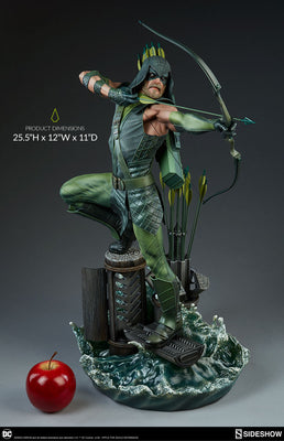 DC Collectible 25 Inch Statue Figure Premium Format - Green Arrow Sideshow 300668