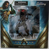 DC Gallery 9 Inch PVC Statue Aquaman Movie - Black Manta
