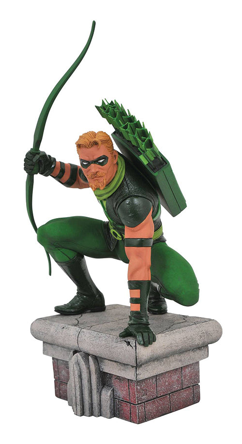 DC Gallery 8 Inch Statue Figure Comic Series - Green Arrow