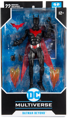 DC Multiverse Animated Series 7 Inch Action Figure - Batman Beyond (Human Face Version)