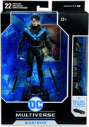 DC Multiverse 7 Inch Action Figure BAF Batmobile Series - Modern Nightwing