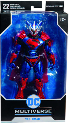 DC Multiverse 7 Inch Action Figure Comic Series - Superman Unchained Armor