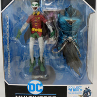 DC Multiverse Dark Nights Metal 7 Inch Action Figure BAF The Merciless - Robin Crow Earth-22 (Random Head)