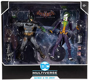 DC Multiverse Gaming Series 7 Inch Action Figure 2-Pack - Batman & The Joker