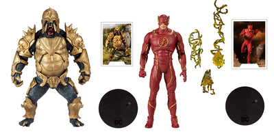 DC Multiverse 7 Inch Action Figure Gaming Series Wave 3 - Set of 2 (Flash - Grodd)