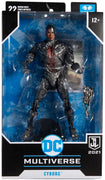 DC Multiverse Justice League 2021 7 Inch Action Figure - Cyborg