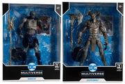 DC Multiverse Justice League 2021 7 Inch Action Figure Mega - Set of 2 (Darkseid - Steppenwolf)