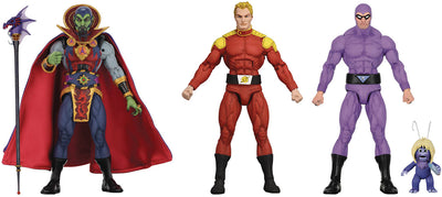 Defenders Of The Earth 6 Inch Action Figure Series 1 - Set of 3 (Flash - Ming - Phantom)