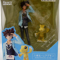 Digimon Adventures 6 Inch Static Figure Figuarts Zero - Taichi & Agumon