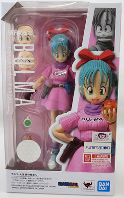 Dragonball 5 Inch Action Figure S.H. Figuarts - Bulma Adventure Begins