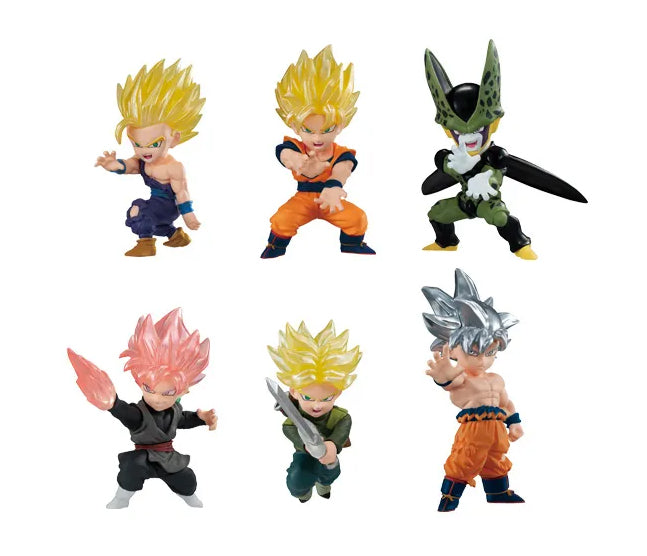 Dragonball Super Adverge Motion 2 Inch Mini Figure Series 1 - Set of 6