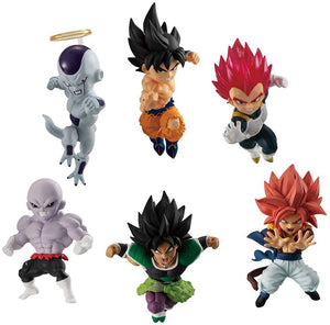 Dragonball Super Adverge Motion 2 Inch Mini Figure Series 3 - Set of 6