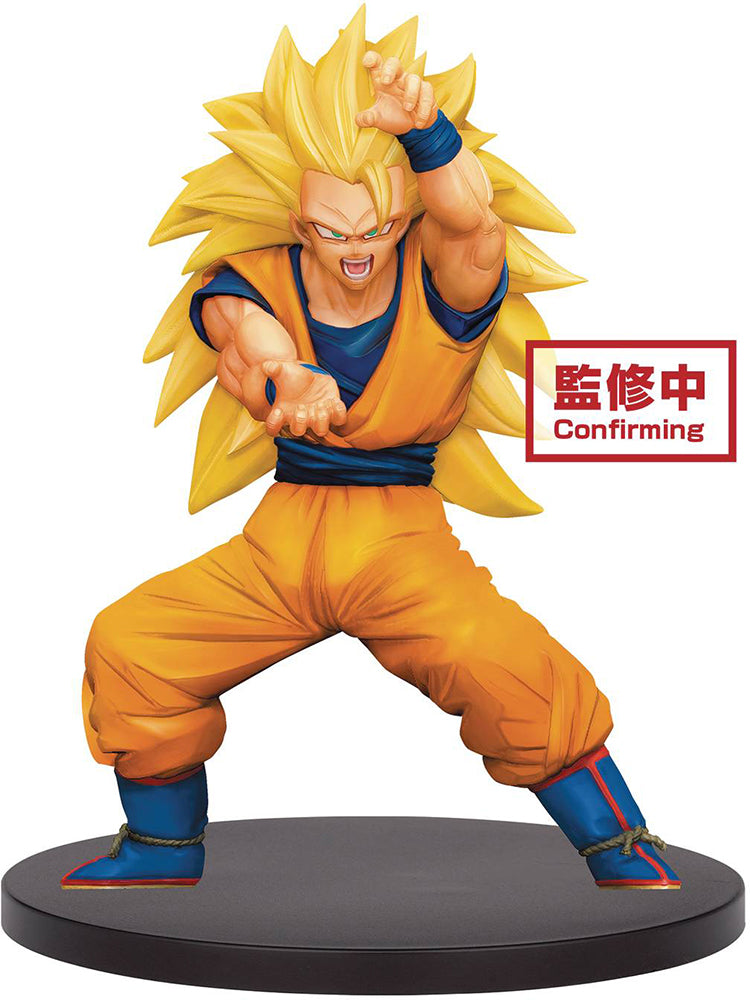 Dragonball Super 6 Inch Static Figure Chosenshiretsuden - Super Saiyan 3 Son Goku