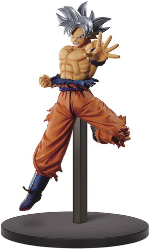 Dragonball Super 6 Inch Static Figure Chosenshiretsuden II - Ultra Instinct Son Goku V1