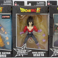 Dragonball Super 6 Inch Action Figure Dragon Stars Seies 13 - Set of 3 (SS4 Vegeta - Piccolo - SS Goku)