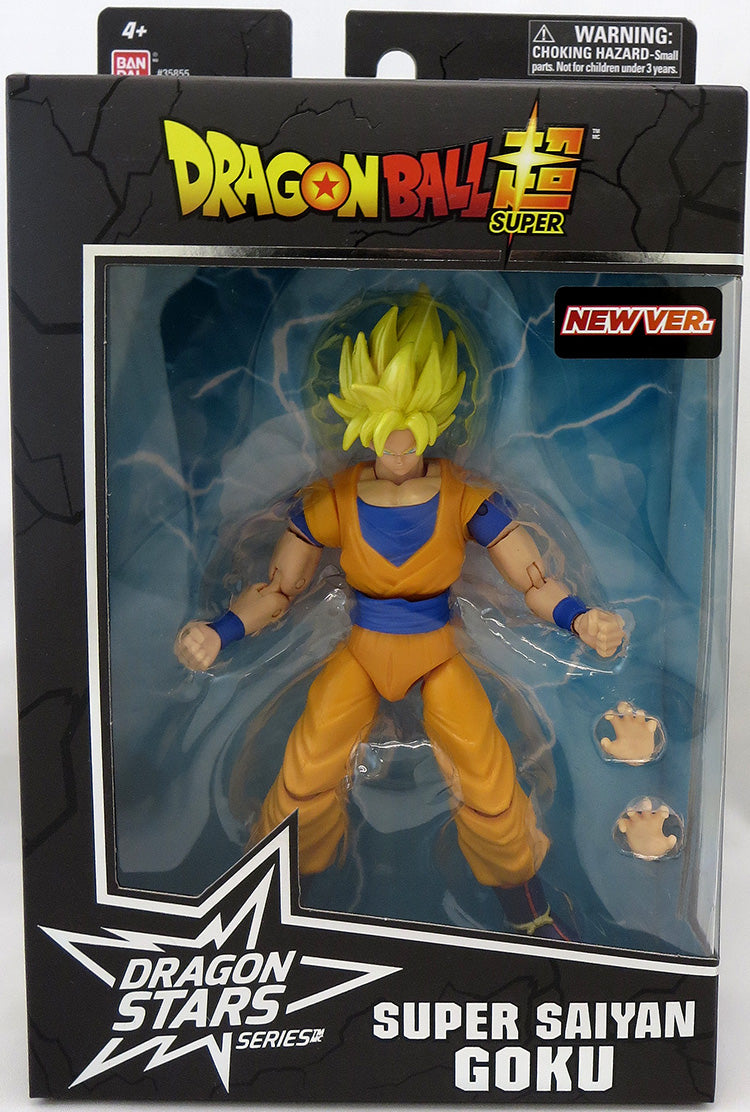 Dragonball Super 6 Inch Action Figure Dragon Stars Seies 13 - Super Saiyan Goku New Version