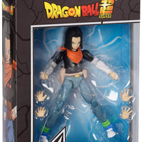 Dragonball Super 6 Inch Action Figure Dragon Stars Series 10 - Android 17