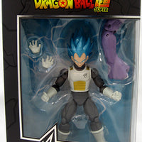 Dragonball Super 6 Inch Action Figure BAF Fusion Zamasu Dragon Stars Series 4 - Super Saiyan Blue Vegeta