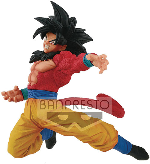 Dragonball Super 8 Inch Static Figure FES Series - SS4 Son Goku Special Version