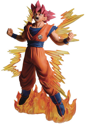 Dragonball Super 7 Inch Static Figure Ichiban - Super Sayan God Goku