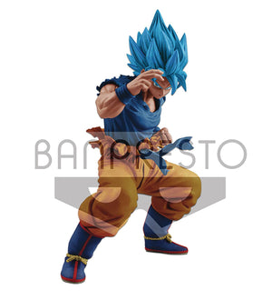 Dragonball Super 7 Inch Static Figure Masterlise - Super Saiyan God Goku