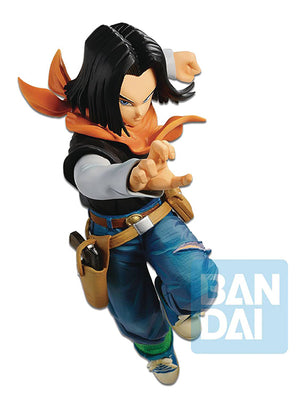 Dragonball Z 7 Inch Static Figure Fighter Z Series - Android 17